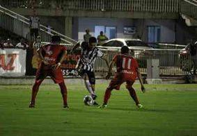 Com quatro gols anulados, Botafogo empata em 0 a 0 com o Salgueiro