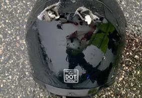 Motociclista morre após ser atingido por raio na Flórida