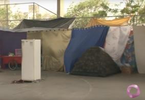 Vídeo: Famílias despejadas de condomínio em JP estão sendo encaminhadas para residências