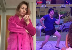 """""""Ele não tem masculinidade frágil"""", diz esposa de Pyong Lee sobre danças dele no BBB20"""