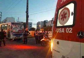 Motociclista morre após colisão com ônibus em João Pessoa