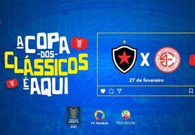 TV Tambaú transmite Botafogo-PB X 4 de Julho