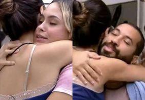 """Após volta de Carla, Gil e Sarah pedem perdão a Juliette: """"Agente te ama muito"""""""