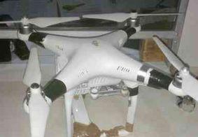 Drone carregado com maconha é derrubado pela PM em João Pessoa