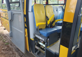 Criança de seis anos morre após ser atropelada por ônibus escolar