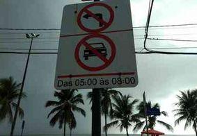 Circulação na Orla de João Pessoa tem novas regras a partir de hoje