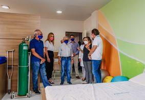 Hospital Laureano pode receber apoio da Caixa Econômica