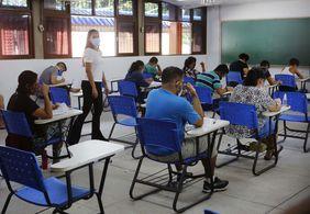 Mais de 20 mil candidatos faltam às provas de concurso da PMJP