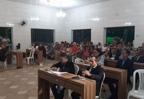 Suplentes de vereadores afastados tomam posse na Câmara de Cabedelo