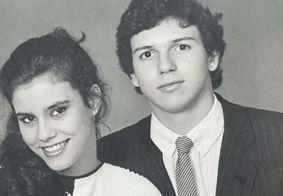 'TBT' de Narcisa ao lado do ex-marido, Boninho, bomba na web; veja