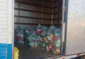 PM apreende 100 cestas básicas que seriam distribuídas em troca de votos na Paraíba
