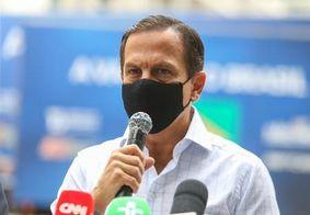 Dória critica pronunciamento de Bolsonaro: 'afronta às vítimas da covid'