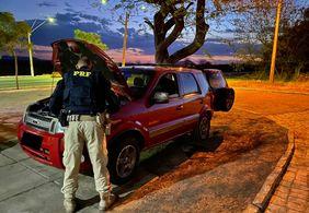 PRF prende homem com carro roubado na Paraíba