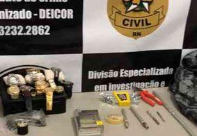 Paraibano é preso suspeito de arrombamento a caixas eletrônicos no RN