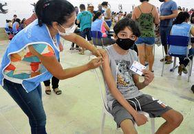 João Pessoa vacina jovens com 12 anos ou mais nesta sexta (22)