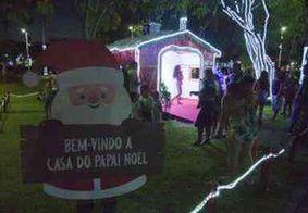 Casa do Papai Noel pode ser visitada a partir deste domingo (17), em João Pessoa
