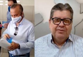 Após visitar cidades da PB, ministro tem reunião com o governador João Azevêdo