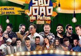 Conheça as atrações do São João de Patos 2018