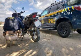 PRF-PB recupera dois veículos em ocorrências nas cidades de Queimadas e Campina Grande