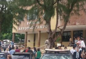 Após suspeita de bomba, trabalhos são cancelados em fórum da Paraíba