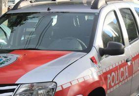 Polícia foi acionada, mas não conseguiu prender o suspeito do crime.