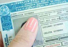 Paraíba: inscrições para CNH gratuita terminam nesta segunda (17)