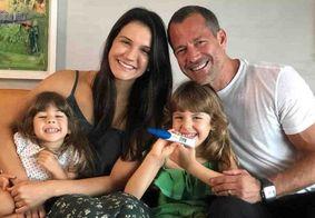 Ator Malvino Salvador anuncia que vai ser pai pela quarta vez; veja