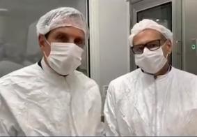 """Doria anuncia produção de vacina contra o novo coronavírus: """"Dia histórico"""""""
