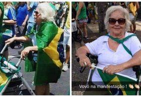 Bolsonaro divulga foto de 2015 para ilustrar manifestações deste domingo
