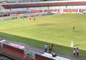 Estádio Carneirão, em Alagoinhas