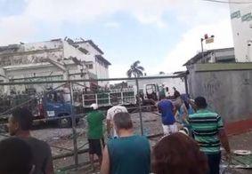 Explosão na fábrica de oxigênio da White Martins