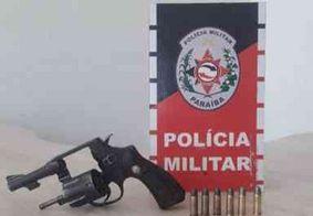 Polícia Militar captura foragidos da Justiça envolvidos em homicídios, e apreende arma na PB