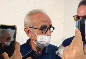 """""""É importante não trocar o certo pelo duvidoso"""", diz candidato Cícero Lucena durante votação"""
