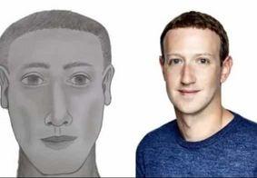 Retrato falado de suspeito de ataque na Colômbia parece Mark Zuckerberg