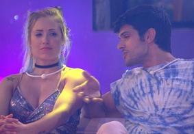 """Lucas pede para Jéssica ficar com Breno no BBB18 e ela recusa: """"Não quero ele"""""""