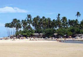 Praia de Jacarapé, no Litoral Sul de João Pessoa.