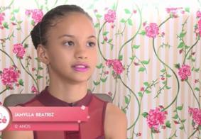 Vídeo: Jamylla sonha em ser bailarina