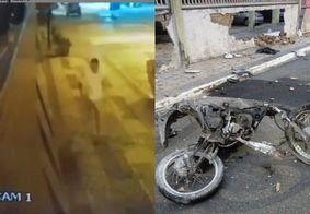 Vídeo mostra motorista fugindo após colisão que matou motoboy, em João Pessoa