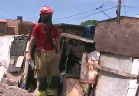 Incêndio destrói barracos em comunidade de Cabedelo