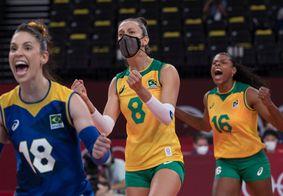 Brasil ganhou por 3 sets a 1 do Comitê Russo