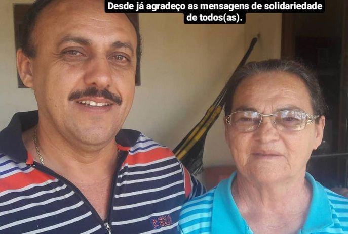 Zezinho Botafogo-PB e dona Inez Freire
