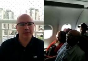 Piloto paraibano dá detalhes sobre surpresa que fez aos pais em voo; veja