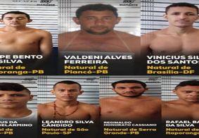Criminosos fugiram do sistema prisional