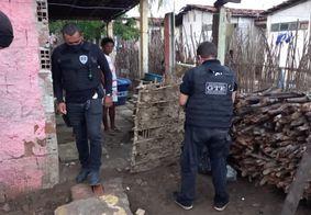 As pessoas presas são suspeitas de compor uma facção criminosa que tenta se estabelecer na região