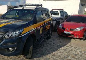 Agentes da PRF-PB recuperam veículo furtado em João Pessoa