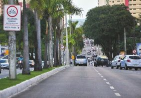Avenida Presidente Epitácio Pessoa, na capital paraibana.