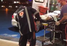 Homem é socorrido após sofrer ataque a tiros em Pedras de Fogo, na PB