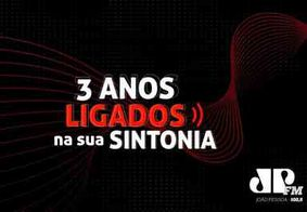 Jovem Pan João Pessoa comemora 3 anos com programação especial e premiando ouvintes