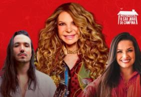 Ao vivo: acompanhe a Live de Elba Ramalho, Juliette e Luã Yvys