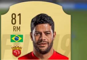 Com estreia da Superliga Chinesa, Hulk é destaque no game 'Fifa 19'